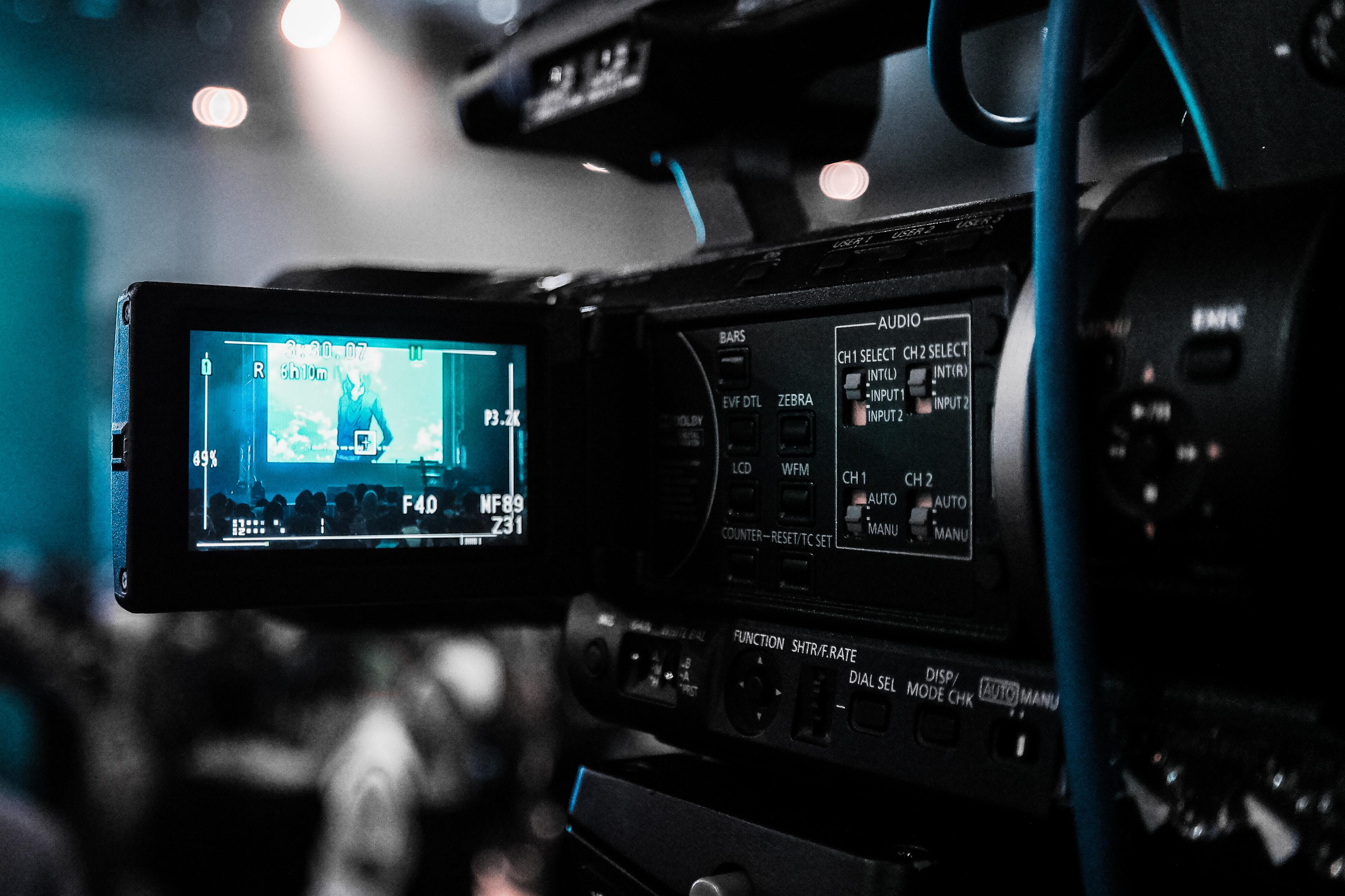 Et kamera som filmer.