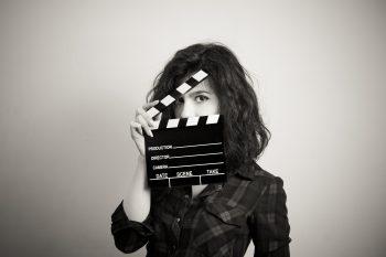 En kvinnelig regissør